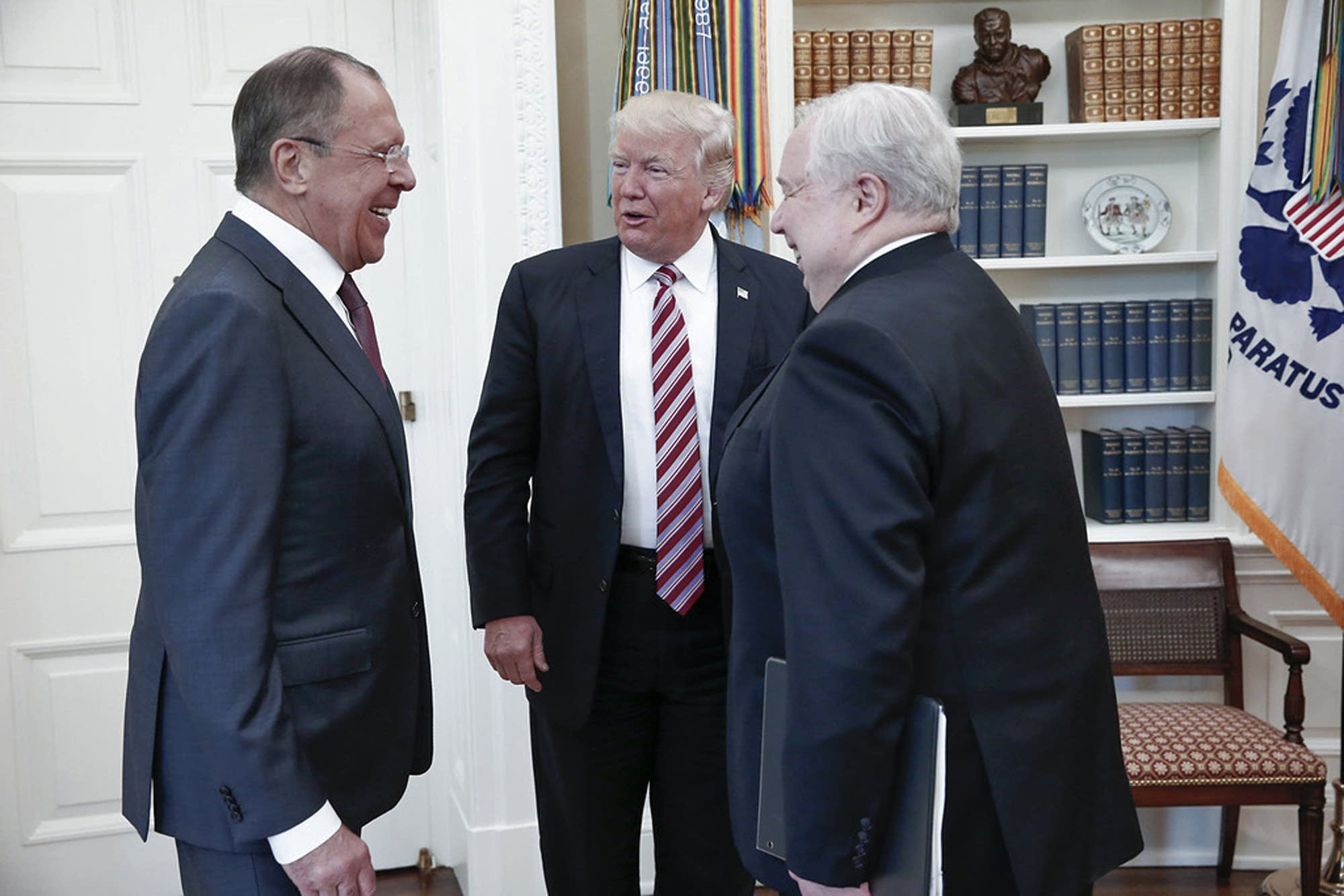 Image result for trump meets with russians