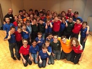 The Minnesota Boy Choir at MPR