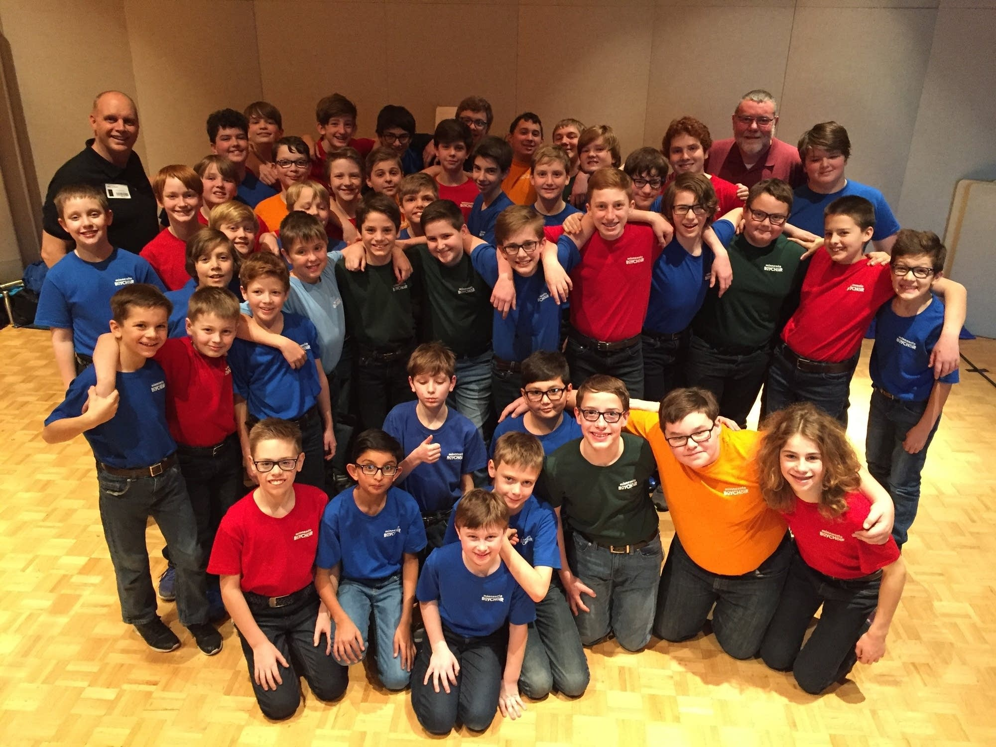 The Minnesota Boy Choir at MPR