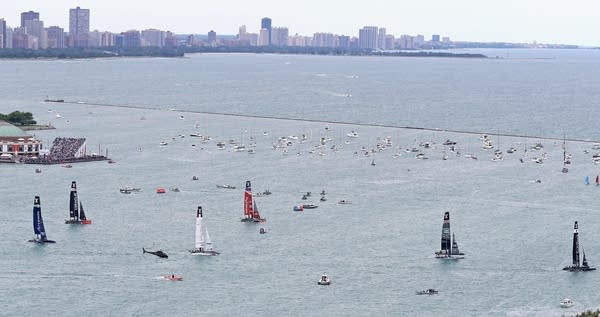 Louis Vuitton America's Cup World Series - Day 2