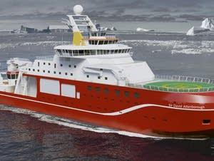 No more Boaty McBoatface, now the 'Attenborough'