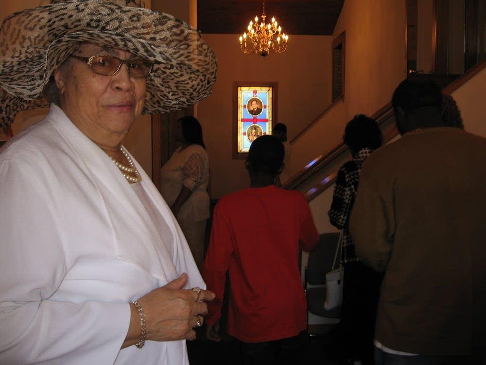 Gospel Temple pastor Thelma Buckner