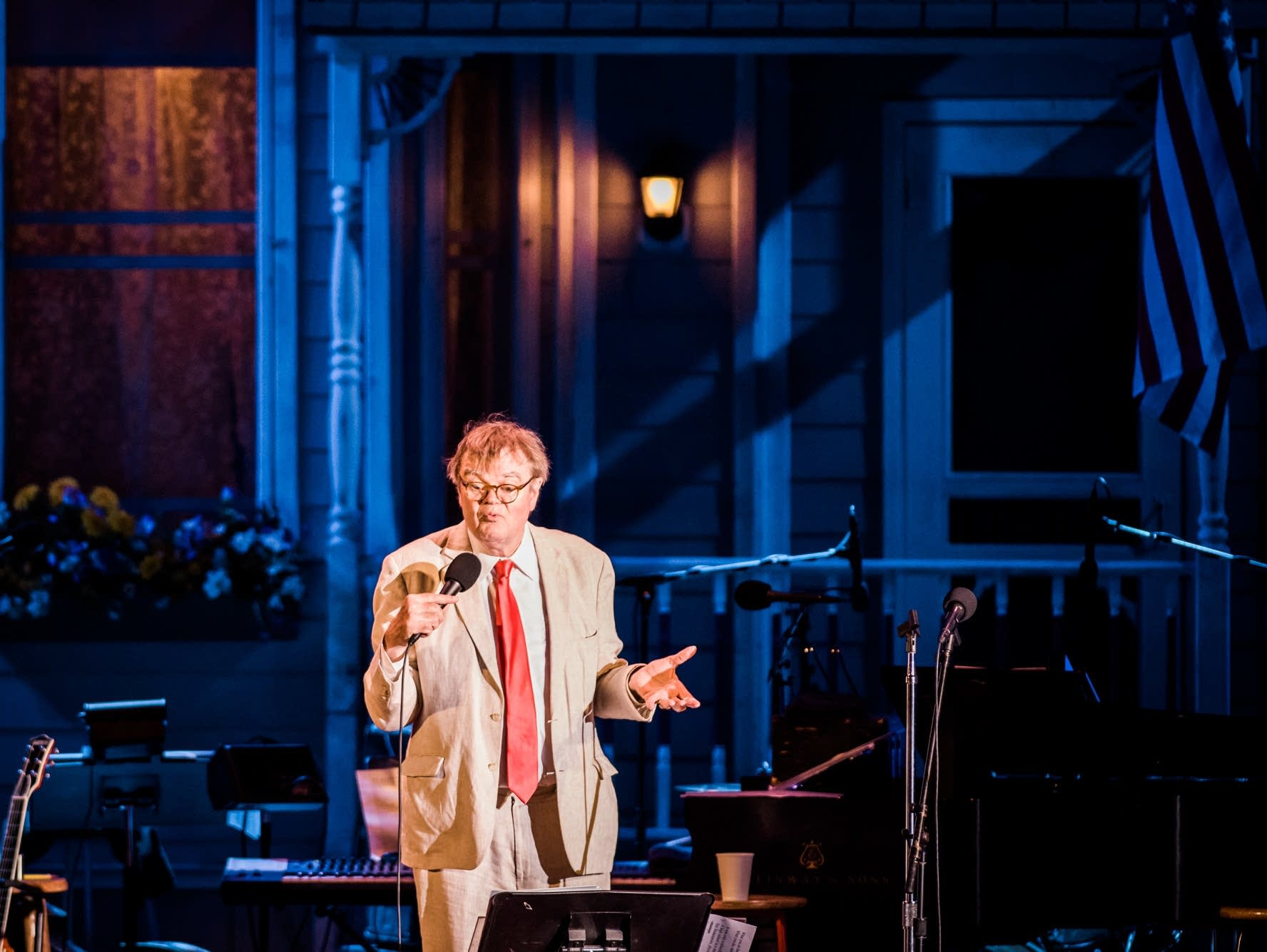 Garrison Keillor Defended Al Franken Just Before Getting Fired Over Similar Allegations