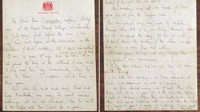 3b23d1 queen elizabeth letter