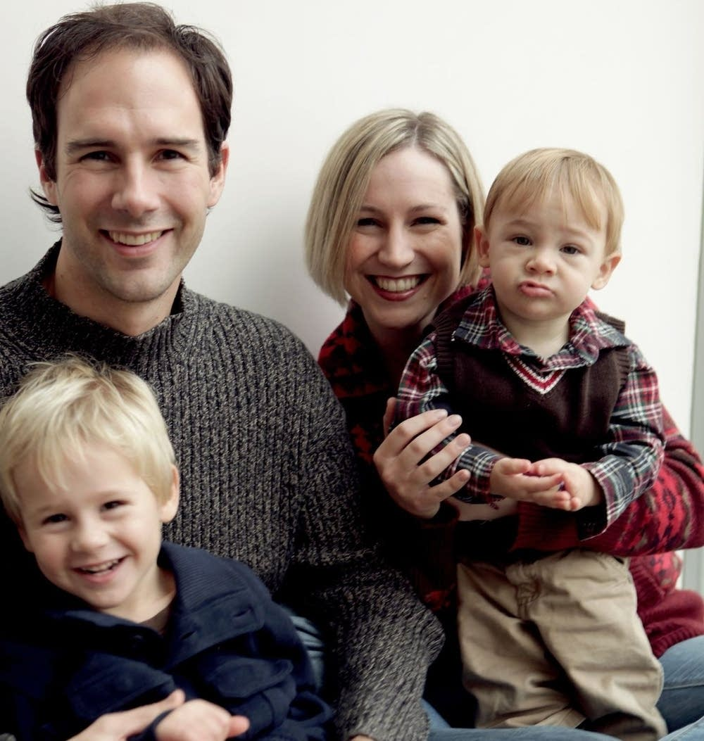 Tim Takach and his family