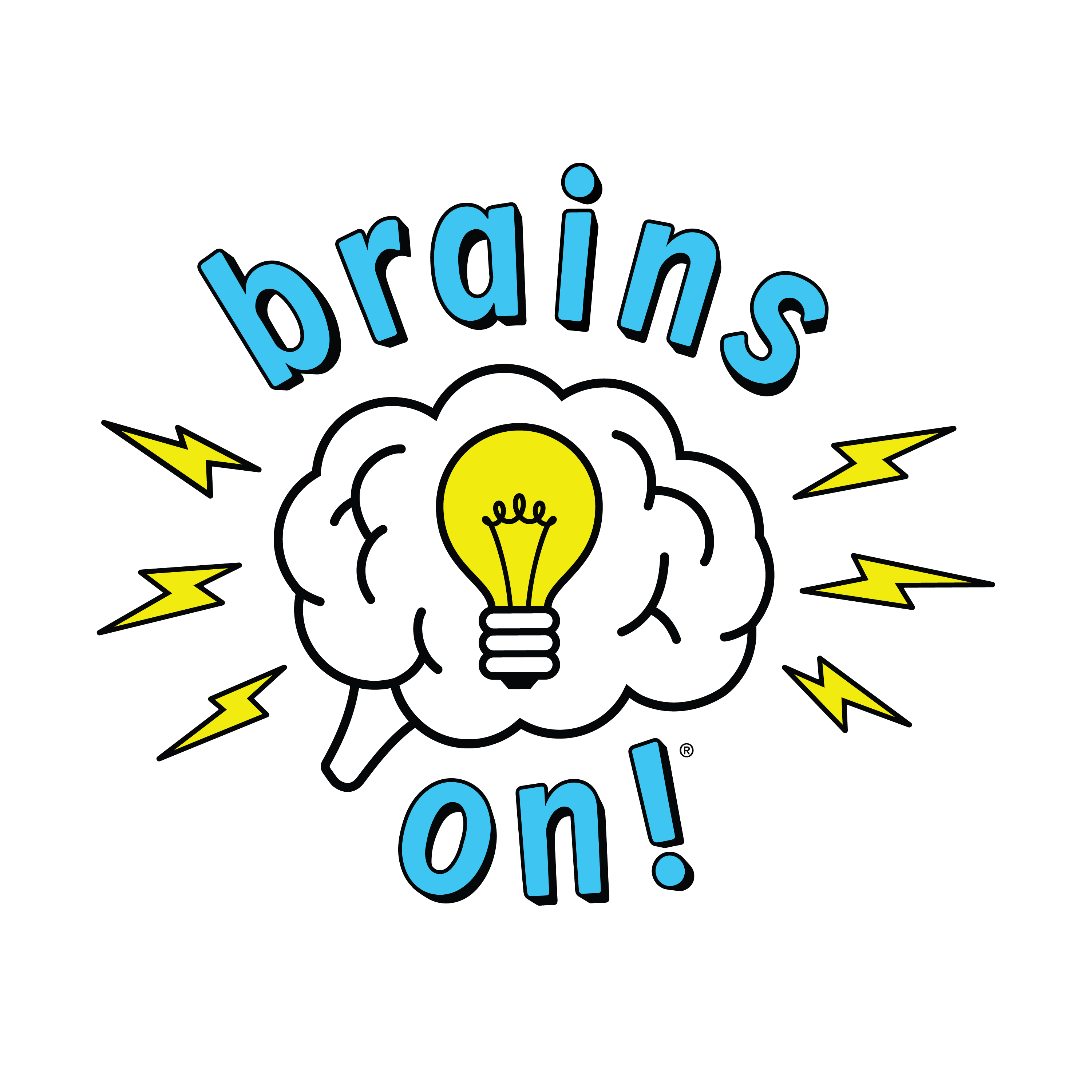 Brains On podcast logo May 2018