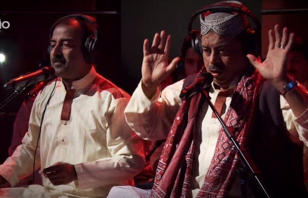 Fareed Ayaz said when he sings Qawwali he is transformed.