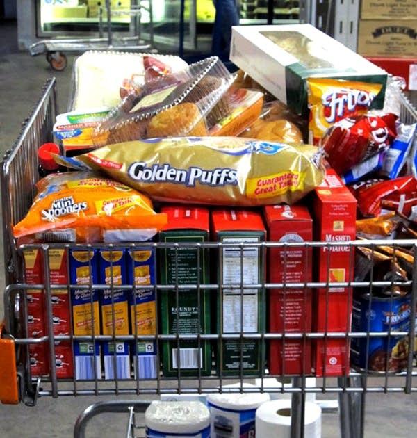 PRISM food shelf