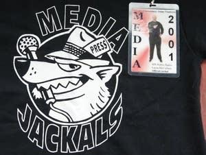 Gov. Jesse Ventura nicknamed the media jackals.