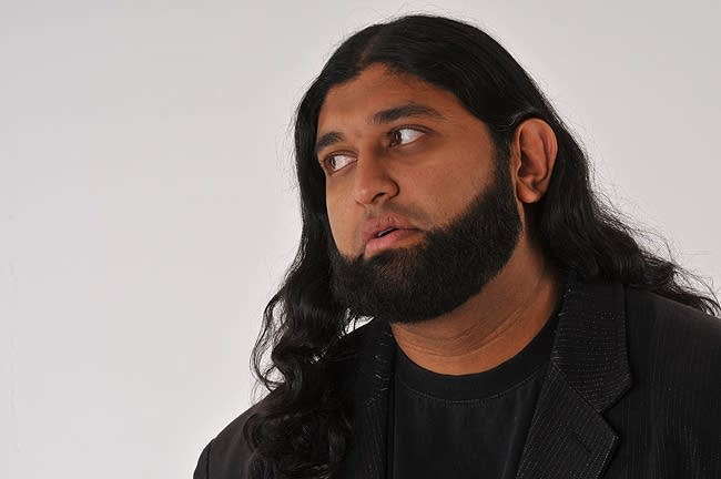 Comedian Azhar Usman