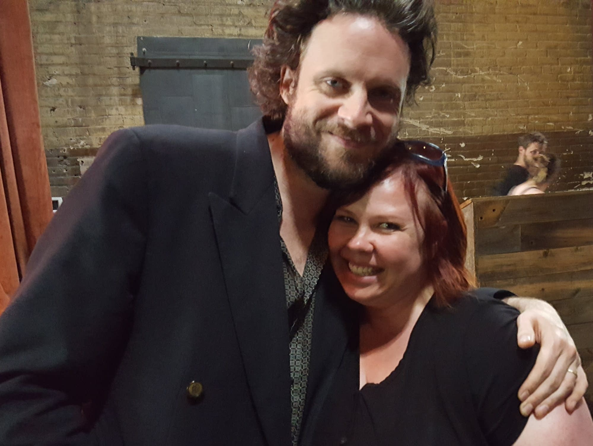Jill Riley and Father John Misty