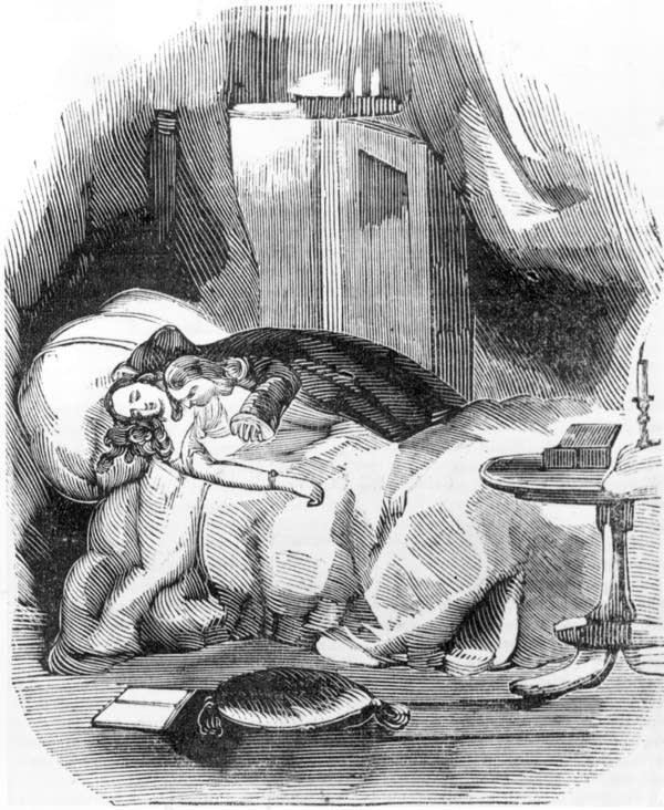 'Varney the Vampire' illustration