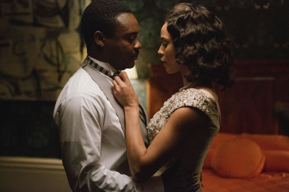 David Oyelowo, Carmen Ejogo in Selma