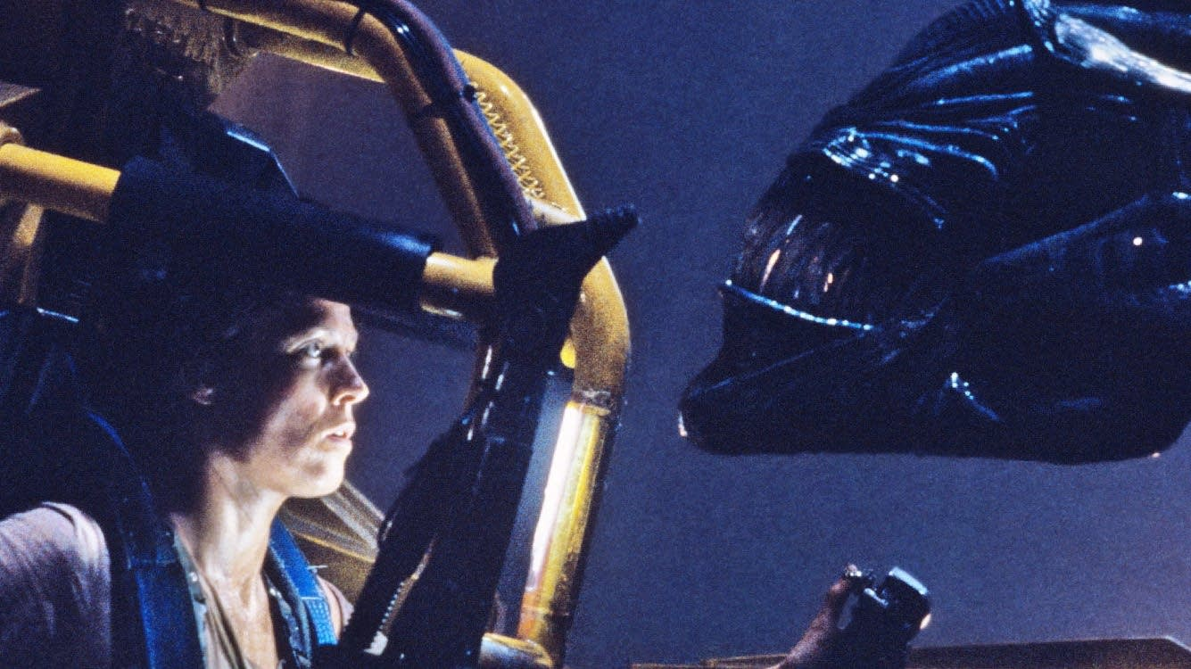Sigourney Weaver in 'Aliens.'