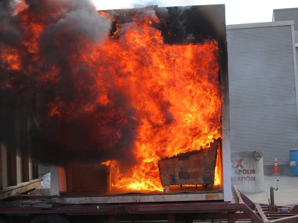 Fire demo