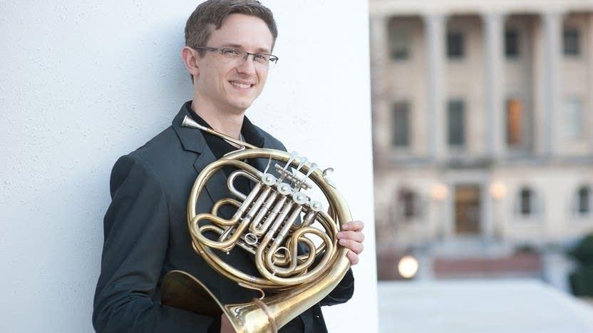 The SPCO's principal horn, Jay Ferree.