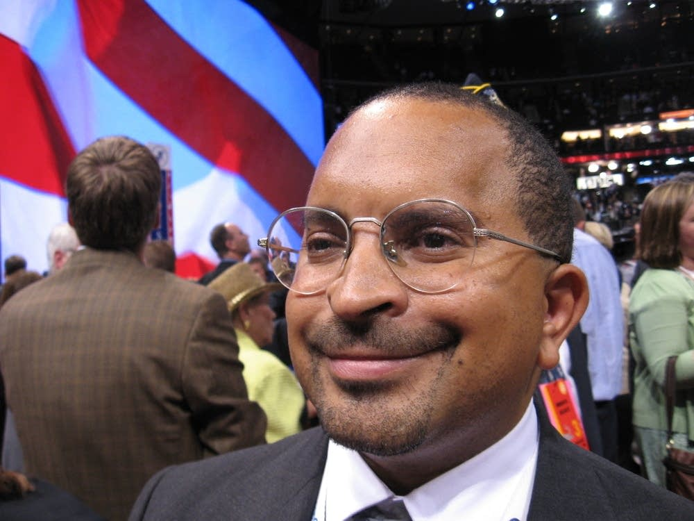 Minnesota delegate Carlton Crawford of Minnepolis
