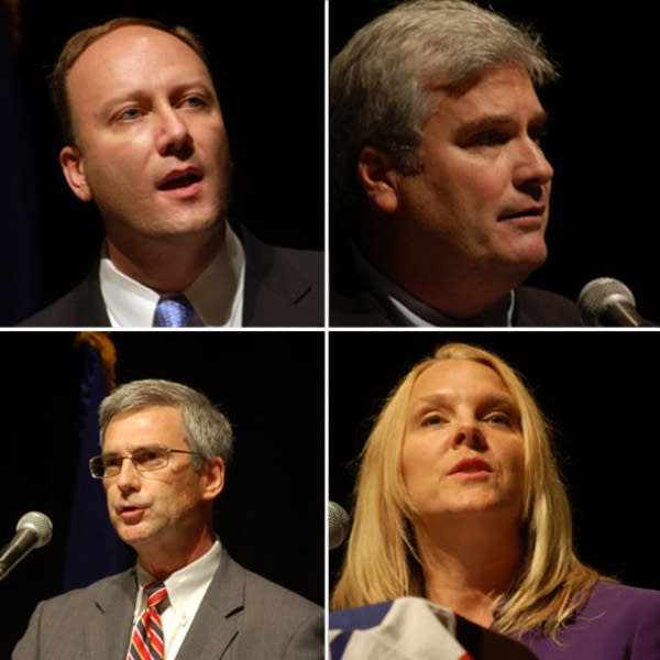 GOP candidates for governor