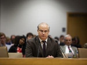 Former investigator and DHS whistleblower Scott Stillman testifies.
