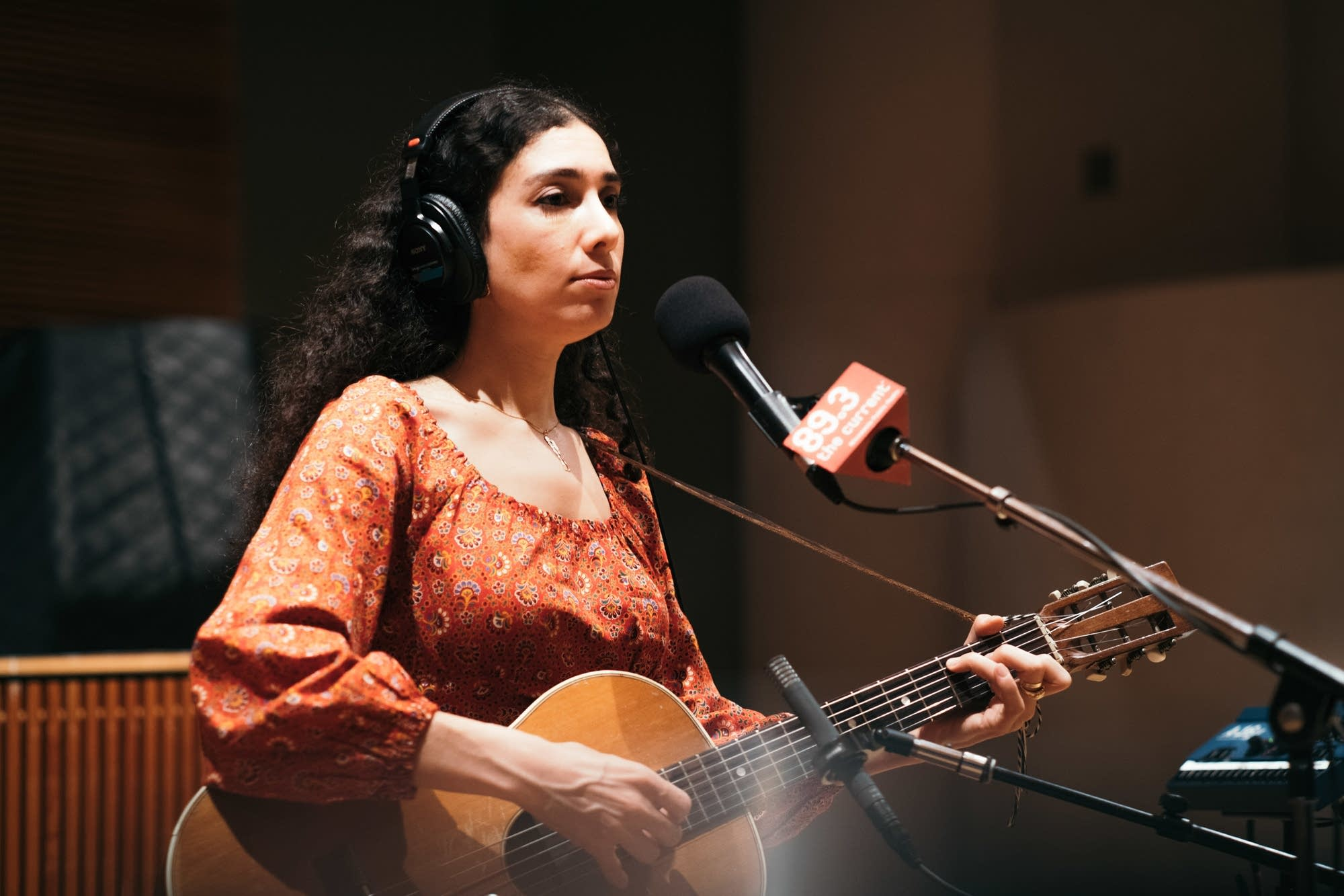 Bedouine performs in The Current studio
