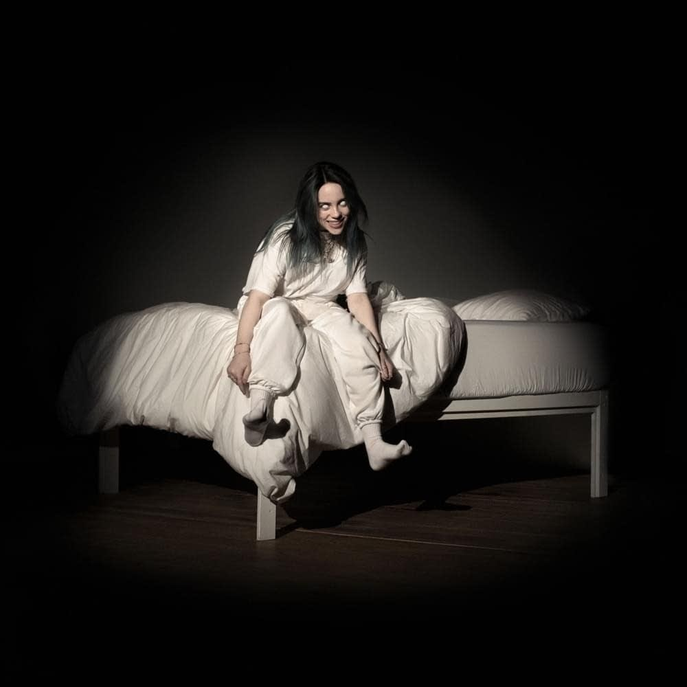 Image result for billie eilish when we all fall asleep where do we go