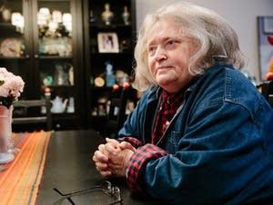 Mystery writer Ellen Hart in her Eden Prairie home.