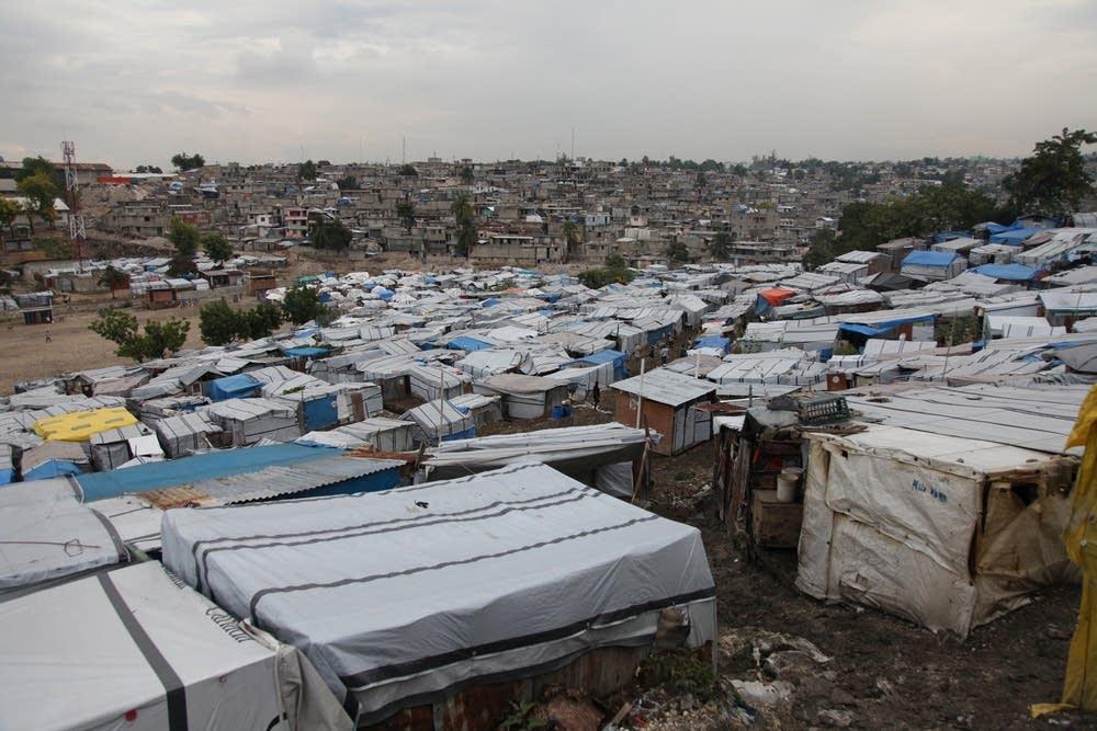Haitian camp