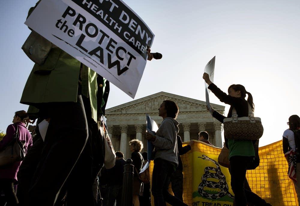 Health care reform protest