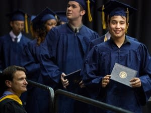 Adolfo Saldana Lara graduates from high school