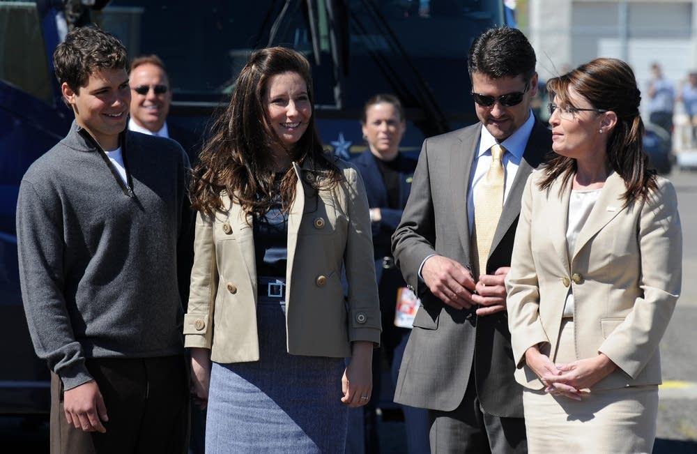 Palin and family members