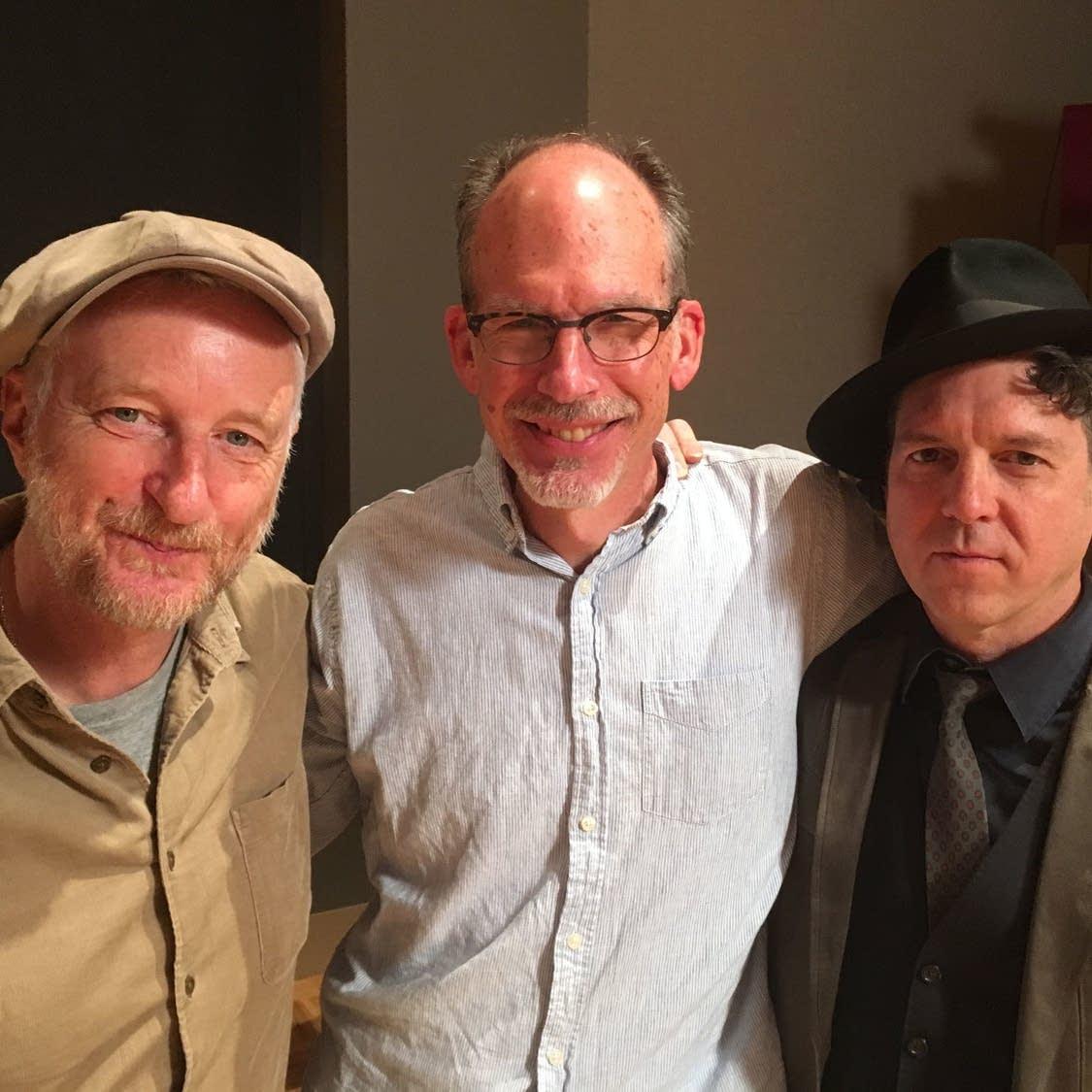 Billy Bragg, Mike Pengra and Joe Henry