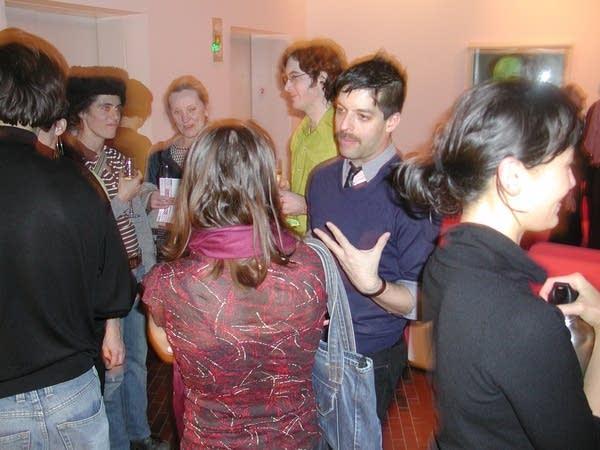 Gutierrez mingling