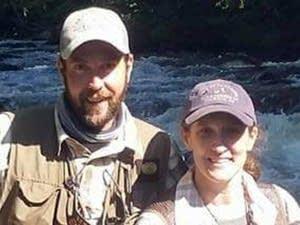 Brian Schumacher and Janet Veit