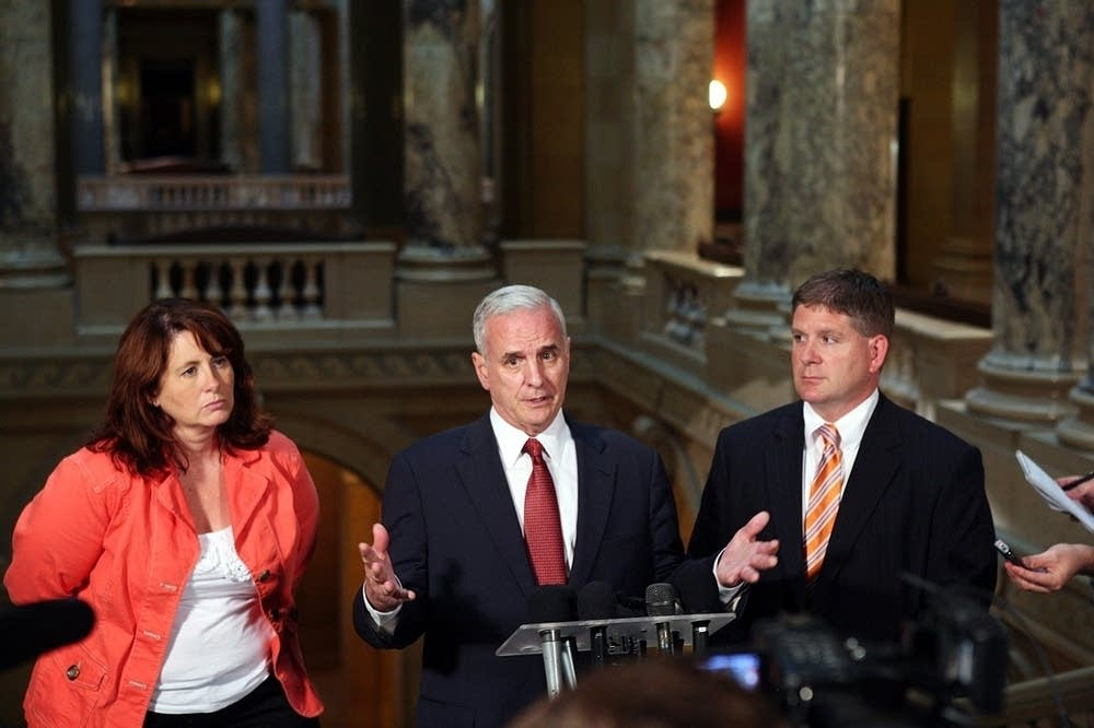Gov. Dayton, Republican leaders