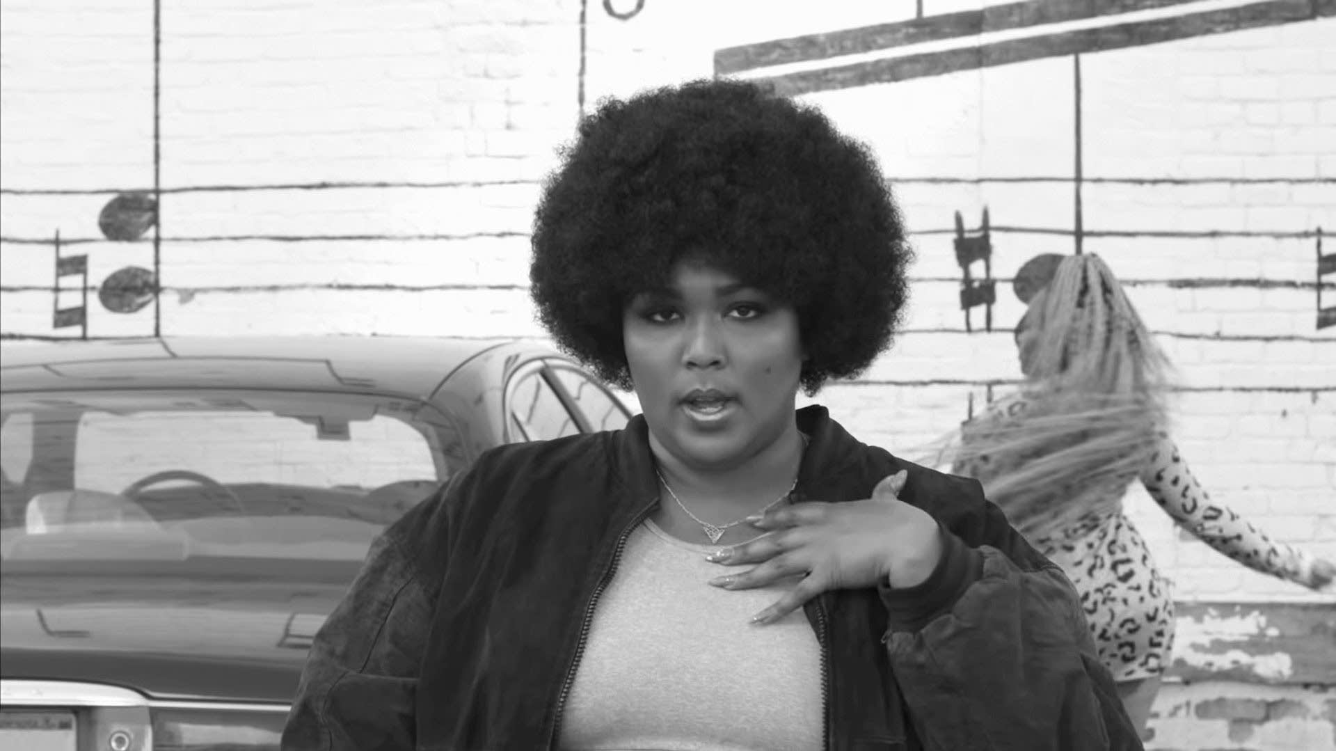 Lizzo Boys video Prince homage