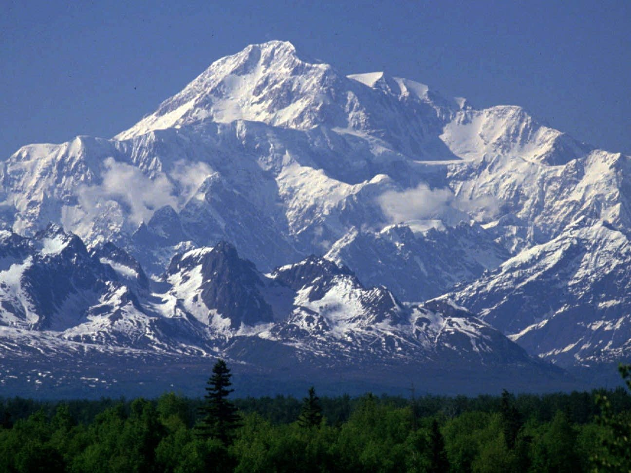Mt. McKinley will once again be Denali.