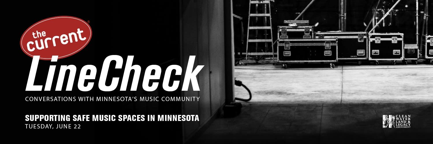 LineCheck Safe Spaces event graphic.
