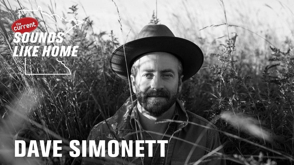 Digital flyer for Dave Simonett's Sounds Like Home performance.
