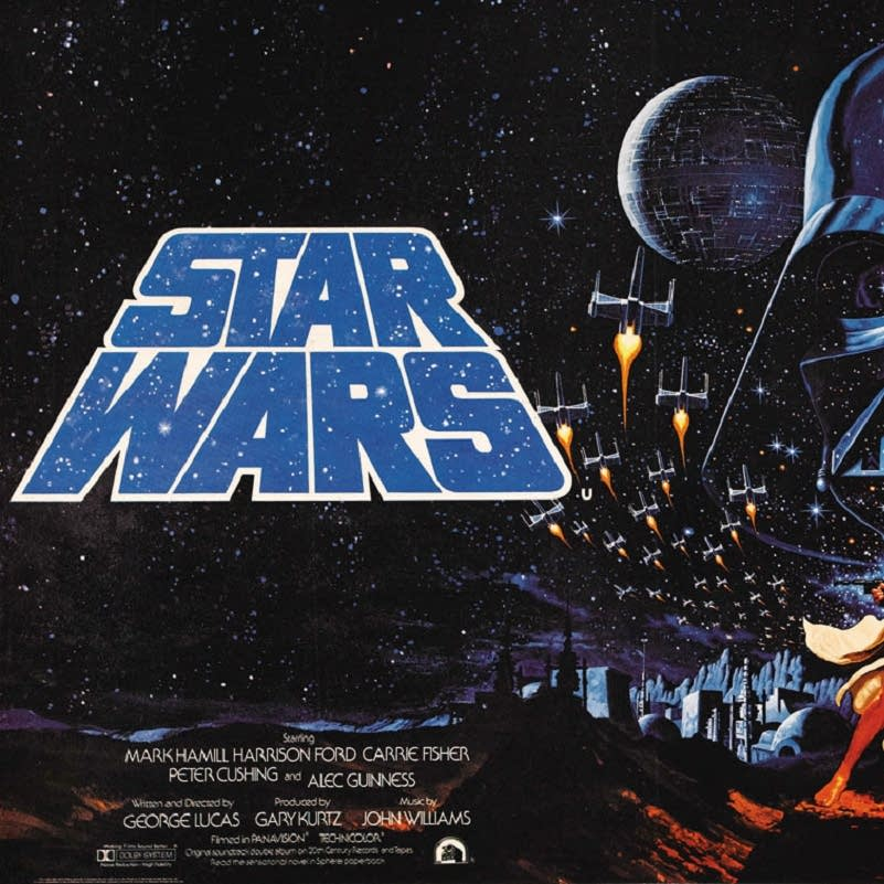 An original 'Star Wars' poster