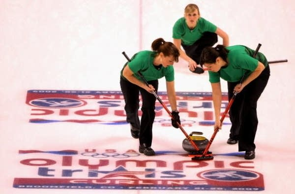 Curling Olympic Trials Finals