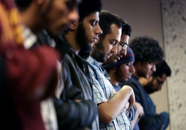 Friday prayer at the University of Minnesota
