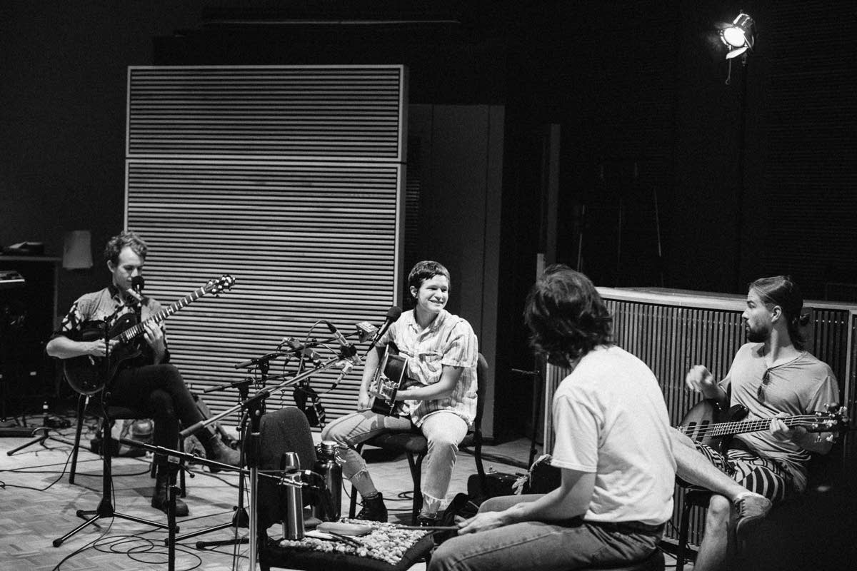 Big Thief perform in The Current's studio