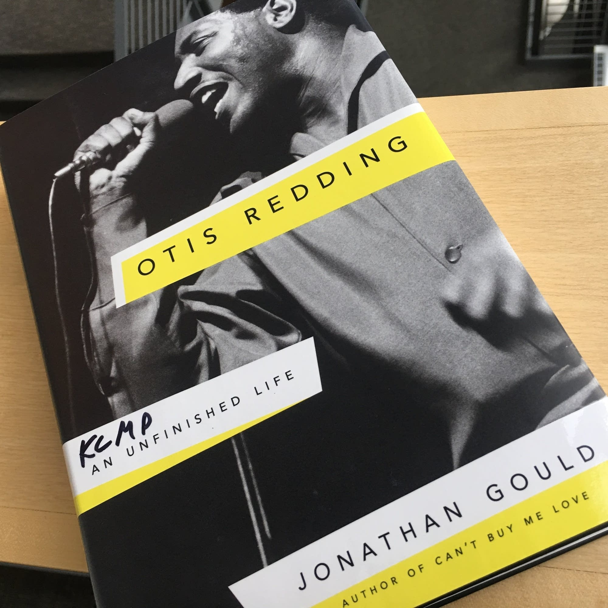 Jonathan Gould's 'Otis Redding: An Unfinished Life.'