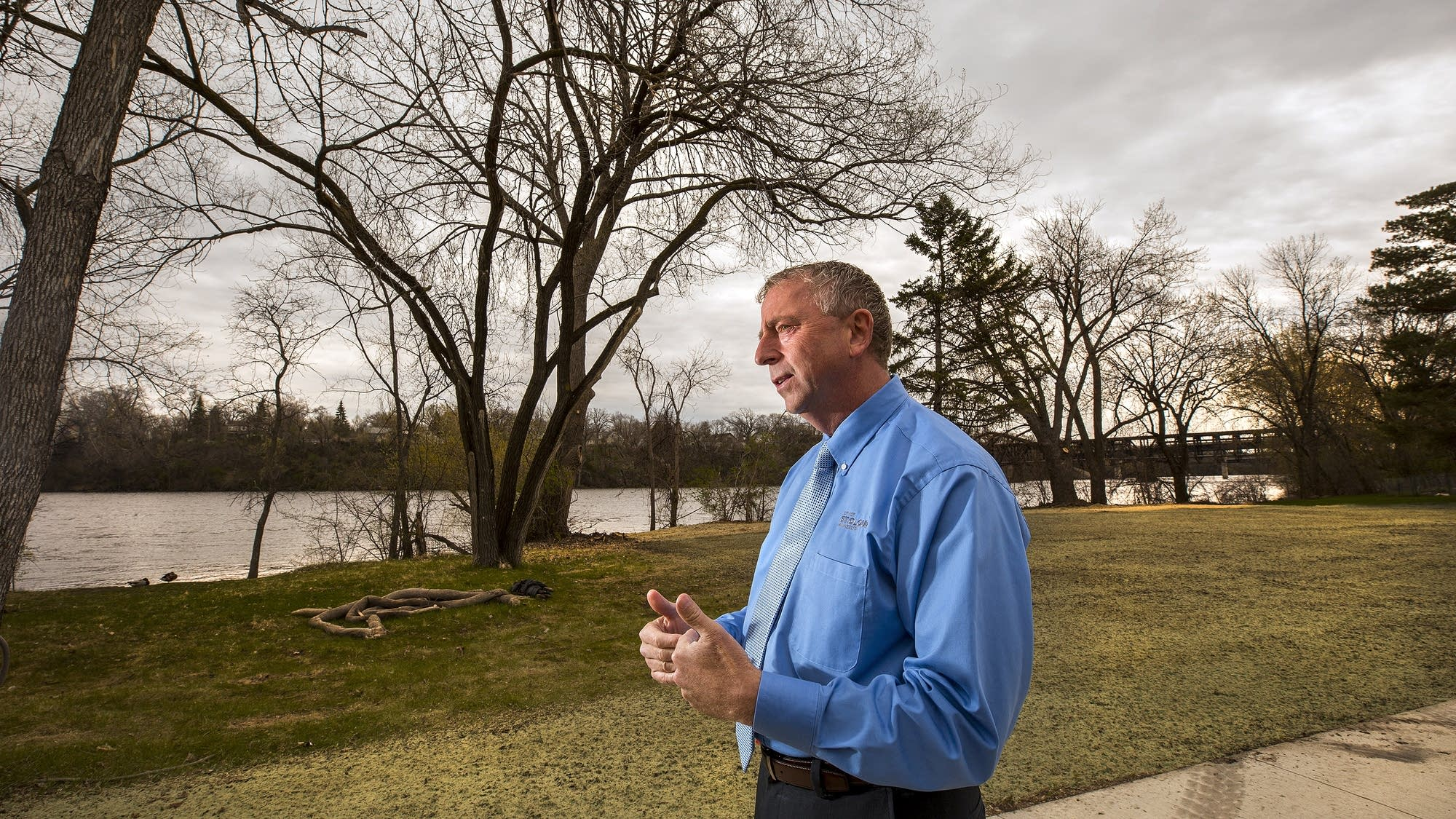 St. Cloud Mayor Dave Kleis talks about the city's newest park.