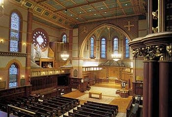 1951 Holtkamp organ at Battell Chapel, Yale University, New Haven,...