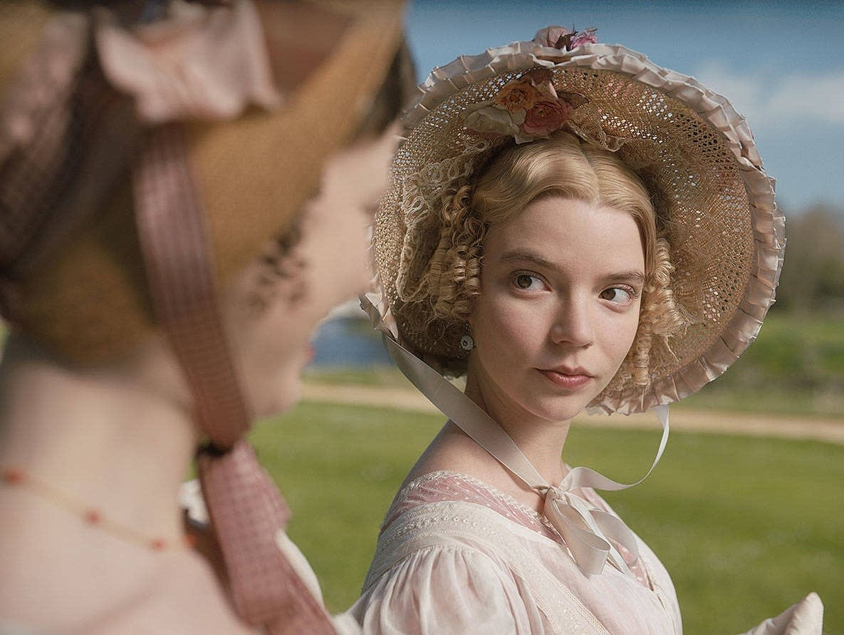 Anya Taylor-Joy in 'Emma.'