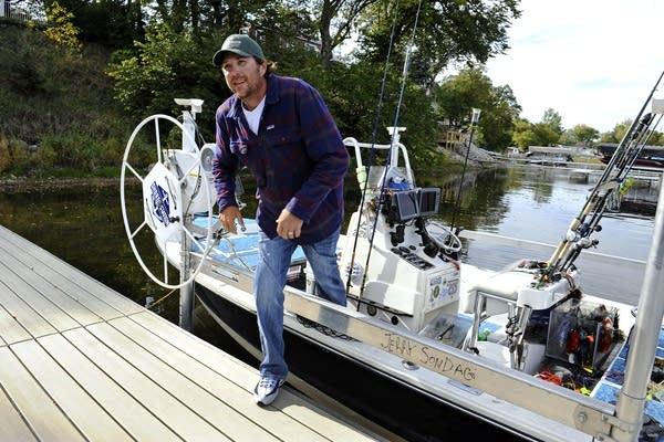Fishing guide Jerry Sondag