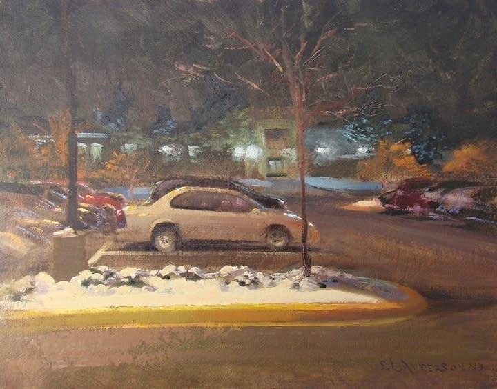 """Parking Lot, Early December"""