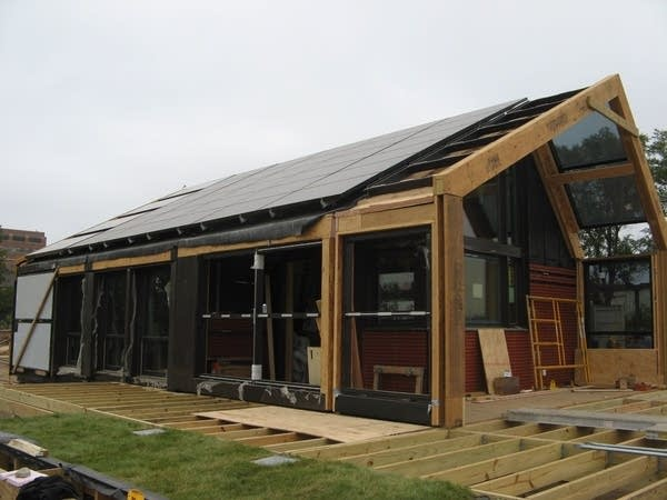 The U of M's solar house