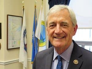 U.S. Representative Rick Nolan in his D.C. office.